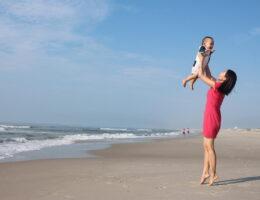 Ubiór dziecka na plażę